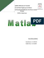 Trabajo de Matlab