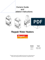 Water Heater Manual Montgomery Ward 800