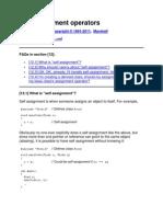 c++ Improtant Topics and Querries