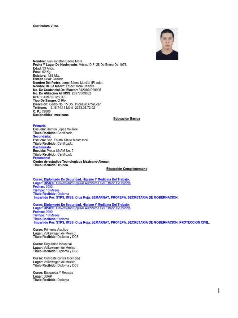Vistoso Curriculum Vitae Automotriz Del Título Regalo - Colección De ...