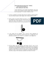 Lista de exercício de física II