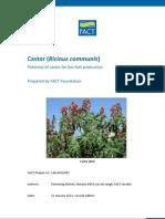 Castor (Ricinus communis)