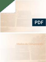 Memorias de FACSO-UNICEN. Medios