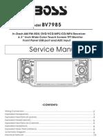 BV7985 Service Manual II