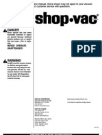 ShopVac General User Manual