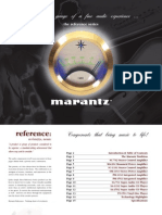 Reference Series Catalog 2010 Marantz America Inc