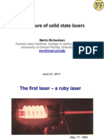 Dr Martin Richardson-The Future of Solid State Lasers