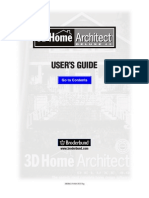 3DHomeArchitect4 Manual