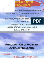 4. Working Capital Management