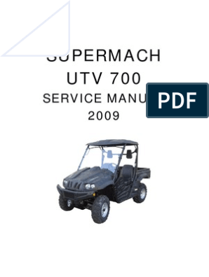 Supermach UTV700 Service Manual Whole | Motor Oil | on