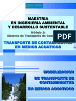 Modelos Calidad de Agua Subterranea