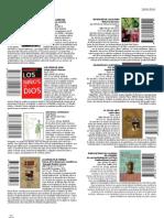 Publicaciónes 2010-2011 (Actualizado noviembre 2011)