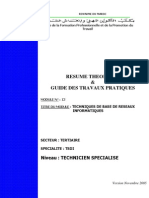M09 Techniques de Base Du Reseaux InformatiquesTIC-TSDI
