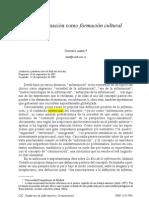 La información como formación cultural - Gonzalo Abril