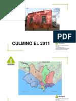 Culminó el 2011  - Municipio G - Montevideo