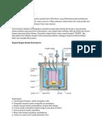 Bom Kalorimeter(karak)