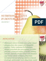 Nutritional Status in Denture Wearers