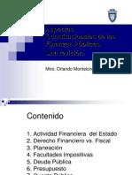 Aspectos Constitucionales de las Finanzas Públicas.