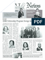 DHR Front and Central News December 2007