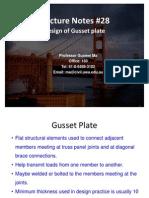 Gusset Plate Design