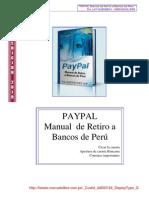 Manual Paypal Retiro Dinero en Peru