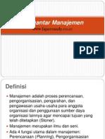 Materi-2 Pengantar Manajemen