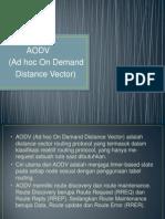 Presentation AODV