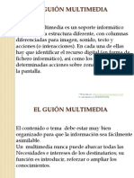 GUIÓN MULTIMEDIA pdf