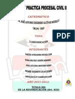 JUICIO DE REIVINDICACIÓN