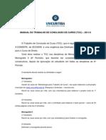 Manual do trabalho de conclusão de curso - 2011