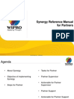 Synergy Reference Manual for PARTNER