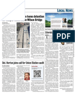 Man Fined, Give House Detention For Subpar Concrete in Wilson Bridge