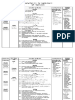 Yearly Scheme of Work English Year 4 SJK 2012