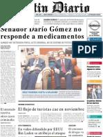 Primera Plana Listin Diario 14-12-2001