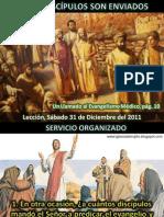 Lección 27 - Otros discípulos son enviados