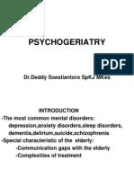 PSYCHOGERIATRY