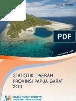Statistik Daerah Prov. Papua Barat 2011