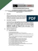 Directiva de to Integral 2012