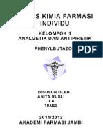 PHENYLBUTAZONUM