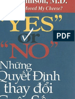Yes or No - Nhung Quyet Dinh Thay Doi Cuoc Song