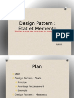 design patterns Memento+State
