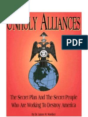 Dr  James Wardner - Unholy Alliances