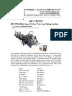 Paper Bag Machines & Paper Handle Machines-1