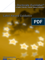 Label Award Guidance