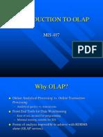 OLAP Systems Introduction