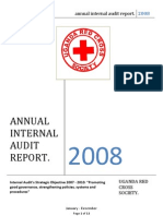 Audit Annual Report 2008