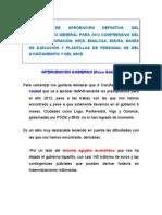 Aprobación definitiva presupuesto municipal 2012. Intervención Gobierno municipal