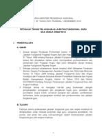 Lampiran Permendiknas Nomor 35 Tahun 2010 Tentang Juknis Pelaksanaan Jabatan Fungsional Guru Dan Angka Kreditnya