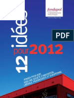 12 Idees Pour 2012 - Fondapol