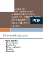 Causes of sis and Management of a Case